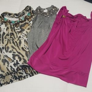 3 dress tank tops from Cache